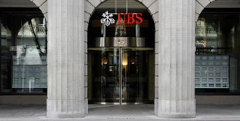 UBS bank branch Zurich