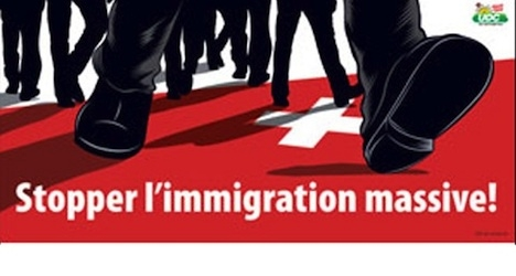 Anti-immigration poster