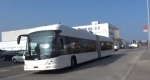 ABB, which has pioneered a wireless electric bus in Geneva which recharges its energy at stops, leads the list of Swiss companies filing patents. Photo: ABB